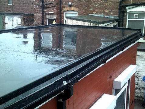 Epdm Flat Roofing By Improve A Roof