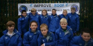 Macc Boys Football are sponsored by Improve A Roof