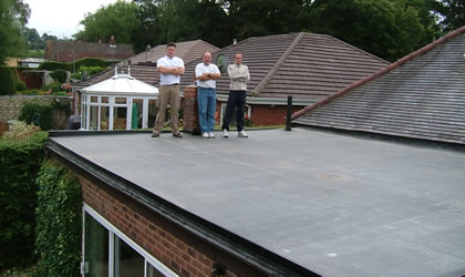 Epdm Rubber Flat Roofing Altrincham By Improve A Roof