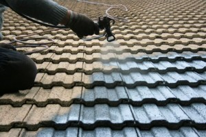 Roof Coating Application